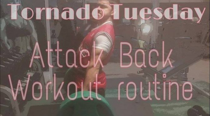 Tornado Tuesday – Attack Back Workout Routine