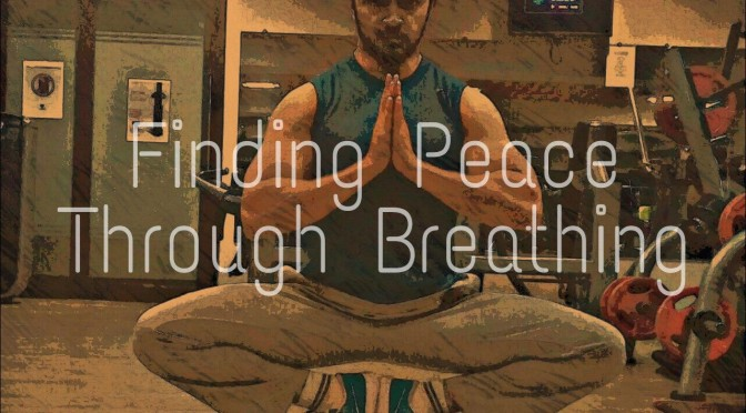 Finding peace through breathing